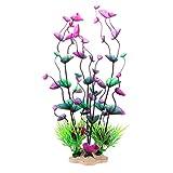 Handfly Künstliche Gras Aquarium Pflanzen Kunstpflanze grün Gras Wasser Pflanzen für Aquarium Decor Ornament Dekoration