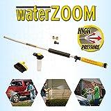 Water Zoom universale Garden tubo alta pressione jet Power lance/ugello/rondella con dispenser di sapone e spazzola di pulizia profonda