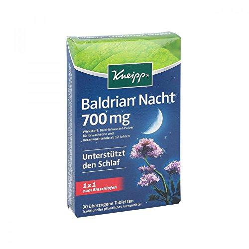 KNEIPP Baldrian Nacht überzogene Tabletten 30 St Überzogene Tabletten