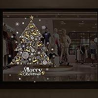 Navidad Pegatinas, Dragon868 Escaparate de Navidad decoración de la pared del árbol de la ventana