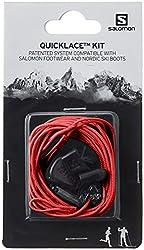 Salomon Quicklace KIT Traillaufschuhe, Rot (Red), Einheitsgröße