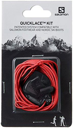 Salomon QUICKLACE KIT Traillaufschuhe, rot, Einheitsgröße (Nähmaschinen-reparatur-kit)