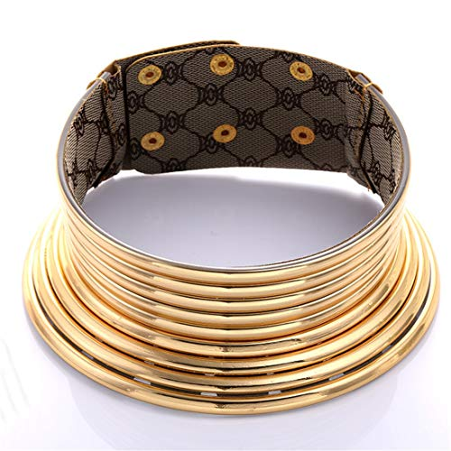 START In Europa und Amerika Accessoires Langer Hals Nationaler Stil übertrieben Persönlichkeit Mehrschichtiger Metallkragen