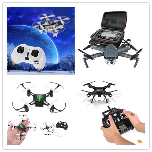Malloom Cheerson CX-10C Mini 2.4G 4CH 6 Axis LED RC Quadcopter con cámara RTF