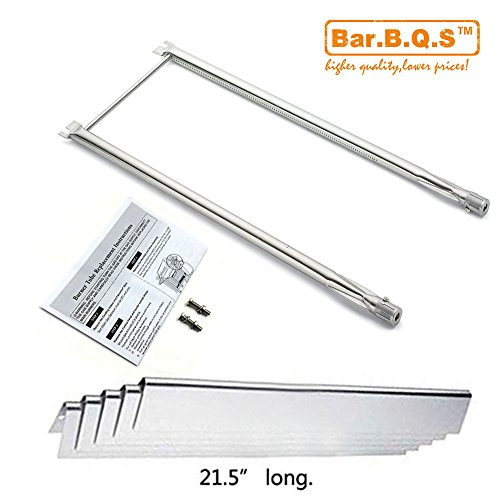 Bar.b.q.s Stainless Steel Grill Burner Flavorizer Bars Cooking Grids Replacement Parts For Spirit 500, Spirit 500LX, and Genesis Silver A gas grills (Repair Kit)