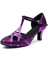 Salabobo - Zapatillas de danza para mujer Morado morado nV8EoCEhE