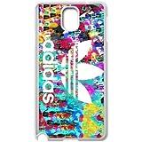 fdxgw094Samsung Galaxy Note 3teléfono celular case-white _ colorful-adidas-