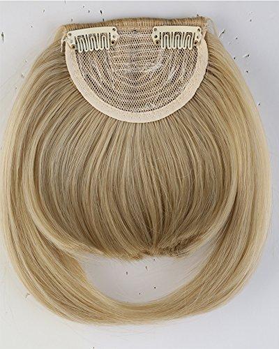 Pony-Haarteil mit Klemme, 20 cm, für Damen / Mädchen, elegant (Bang Clip In)