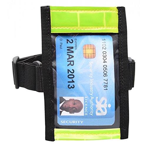 Professionelle Qualität Sia ID Badge Arm Band Halter (Hi Vis)