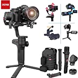 Zhiyun WEEBILL LAB 3-Achsen Stabilisator Gimbal 3KG Payload für All Almost Mirrorless Kameras DSLRs Canon Sony Nikon Panasonic,Smartphone, 3KG Payload Wireless Image Transmission(Mastor Pakage)