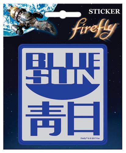 Firefly Blue Sun Sticker