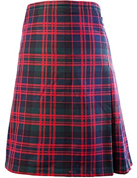 Gents Scottish Kilt Full 8 Yard 24in Drop Waist 28-30 Colour MacDonald Tartan