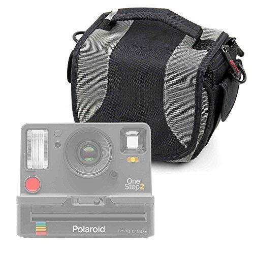 Duragadget borsa per fotocamera polaroid onestep 2 - con tracolla + maniglia - spazio per piccoli accessori - garanzia 100%