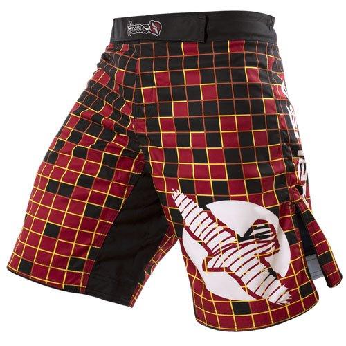 Hayabusa Technik Fight Shorts, Damen, rot, 30 -