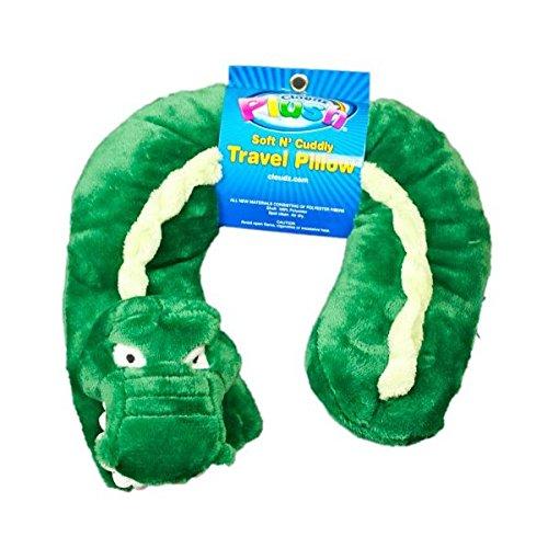 Alligator-kragen (Cloudz Plüsch-Kragen Kissen Krokodil (Alligator) 8.75