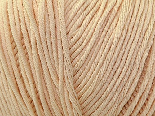 DMC Natura Just Cotton Häkelgarn 4-lagig N81 – Pro 50 g Knäuel + Gratis Minerva Crafts Craft Guide (Natura Dmc Just Cotton)