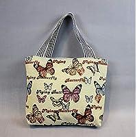 Preisvergleich für Yudanwin Leinwand-Lunch-Tasche Schüler Lunch Bag Cartoon Lunch Box Tasche Picknick Tasche (Zehnte)