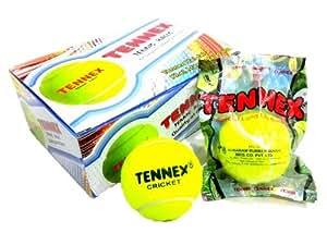 Tennex Cricket Tennis Ball Yellow Light