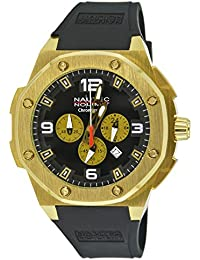 Nautec No Limit Herren-Armbanduhr XL Sailfish Analog Quarz Kautschuk SF QZ/RBGDGDBK