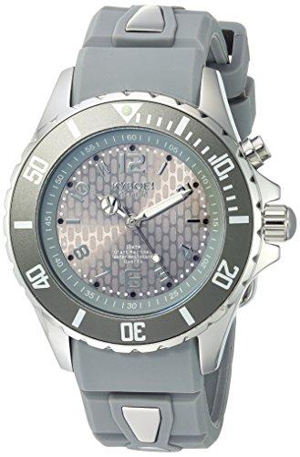 KYBOE Unisex-Adult Analog Quartz Watch with Silicone Strap FW.40-003.15