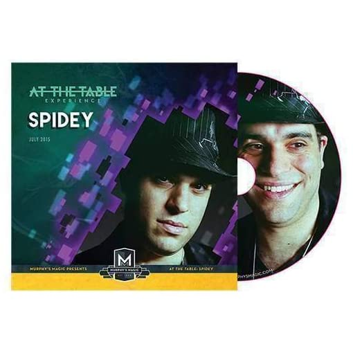 At-the-Table-Live-Lecture-Spidey-DVD-Zaubertricks-und-prop SOLOMAGIA at The Table Live Lecture Spidey (DVD) – Zaubertricks und Prop -