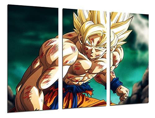 Cuadro Moderno Fotografico Anime Japones, Super Saiyan,...