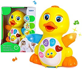 higadget Baby Toys with Music and Lights, Learning and Educational Toys (Dancing Duck)