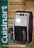 Cuisinart 12-Cup Grind-n-Brew Coffeemaker DCC-695PC