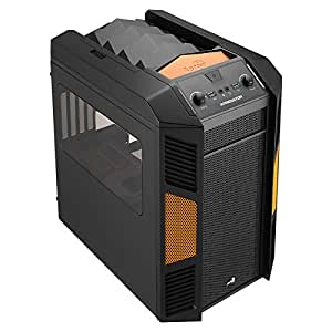 Aerocool Xpredator Cube Boîtier PC Noir/Orange