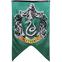Harry Potter Banner Set–Gryffindor Slytherin Ravenclaw Hufflepuff House Flaggen Collection Slytherin