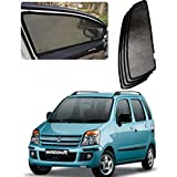 #8: Casotec Magnetic Foldable Window Sun Shades for Maruti Suzuki Wagon R (2008 to 2011) - Set of 4 - with Zipper