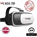 Easypro™ VR BOX 2.0 Virtual Reality Glasses, 2017 3D VR Headsets For Apple IPhone 7s Plus