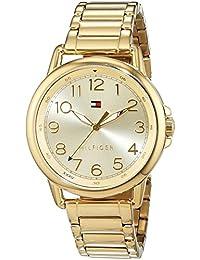 Tommy Hilfiger 1781656 - Reloj de pulsera analógico para mujer, informal, deportivo (mecanismo de cuarzo, revestido de acero inoxidable)