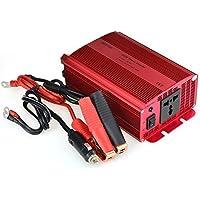 BESTEK 600W Convertisseur 12V 220V Transformateur Onduleur Chargeur Adaptateur de Voiture - Prise Universelle