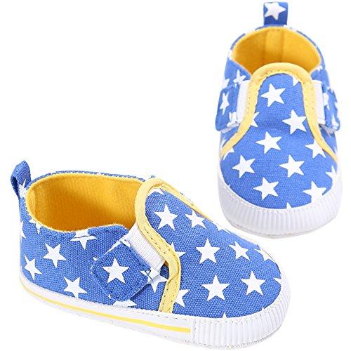 Etrack-Online  Baby Loafers, Baby Jungen Lauflernschuhe Himmelblau