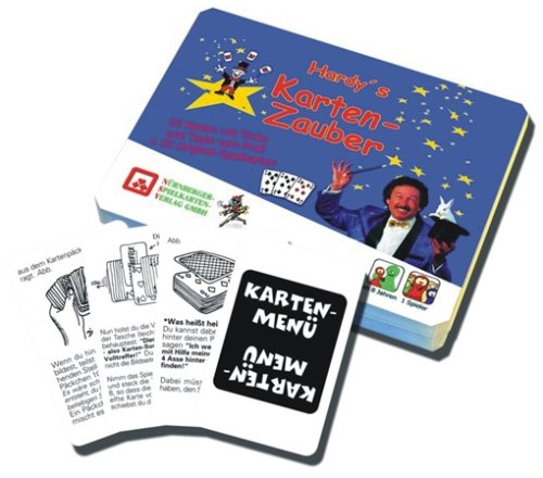 Nrnberger-Spielkarten-Verlag-3003-Hardys-Kartenzauber Nürnberger Spielkarten Verlag 3003 Hardy's Kartenzauber -