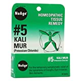 NuAge, 5 Kali Mur (Potassium Chloride), 125 Tablets from NuAge Laboratories