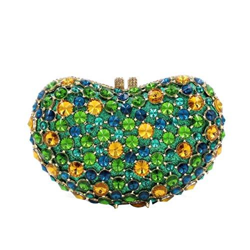 Damen Abendtaschen Diamanten Handtaschen Luxus Edelstein-Taschen OneColor