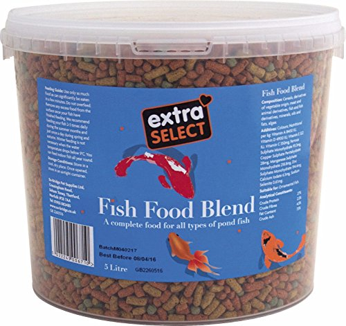 Extra Select Fish Food Blend in Bucket, 5 Litre