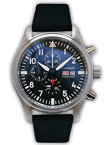 parnis-edelstahl-herrenuhr-flieger-chronograph-modell-2049-mit-miyota-kaliber-stoppuhr-textil-ledera