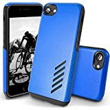 IPhone 8 Case, Orzly® Grip-Pro Case For IPhone 8 (4.7 Inch Model) - Durable & Light-Weight Twin Layer Protective Case - Steel Blue