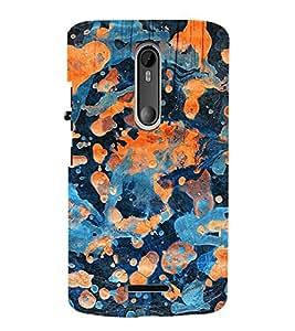 ARTICTIC Canvas Painted Design Pattern 3D Hard Polycarbonate Designer Back Case Cover for Motorola Moto X3 :: Motorola Moto X (3rd Gen)