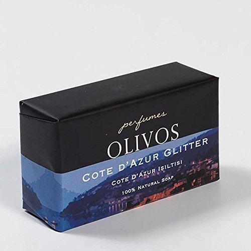 OLIVOS Perfumes Series Savon Cote d'Azur Glitter 250 g