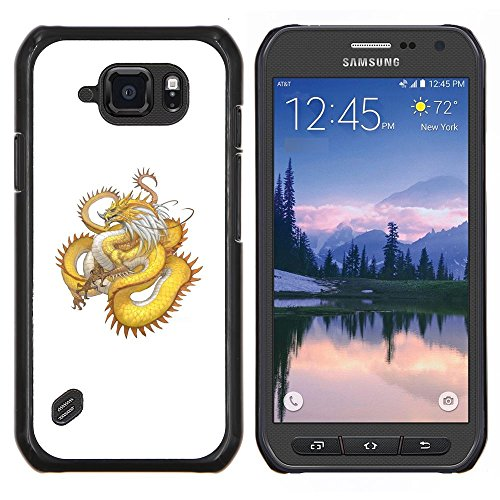 skcase-center-coque-housse-case-etui-cover-or-yellow-dragon-serpent-long-tail-samsung-galaxy-s6-acti