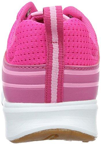 KangaROOS Mädchen Ron I Sneaker Pink (Magenta/Rose)
