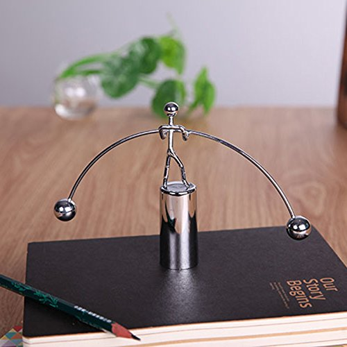Seite - Liegen - Mini Newtons Wiege - Balance Schwerkraft - Männer Bälle Physik Klassische Wissenschaft Schreibtisch Spielzeug kaufen