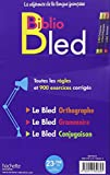 Image de Biblio Bled (Bled Conjugaison- Bled Orthographe-Bled Grammaire)