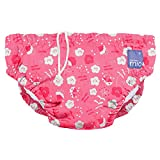 Reusable Swim Nappy, Poppy, Medium (6-12 Months)