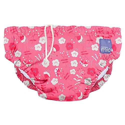 Bambino Mio, wiederverwendbare schwimmwindel, mohnblume, S (0-6 Monate)