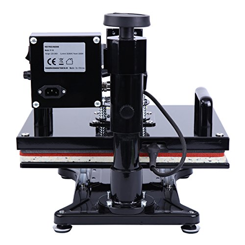 Ridgeyard Digital Swing auswärts T-shirt Foto Hitze Presse Maschine Sublimation Transferdruck 39.5×31.5cm - 7